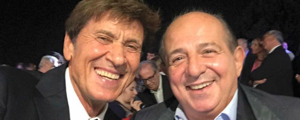 Giancarlo Magalli: 'Con Gianni Morandi ci siamo selfati a morte'