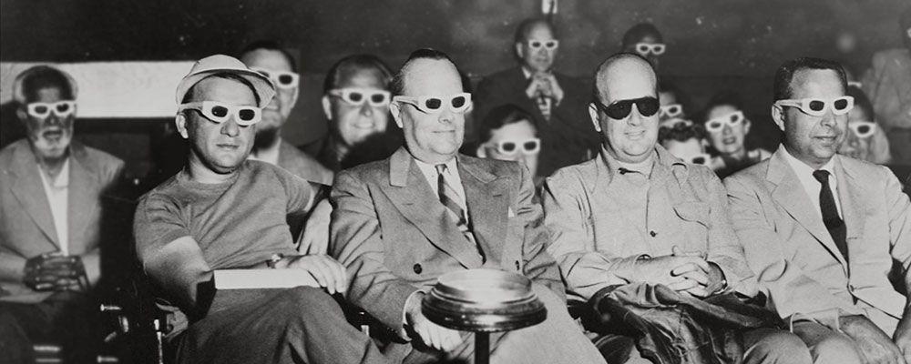 Anche Hitchcock provò gli occhialini 3D. Arriva Sky Vintage, il cinema è storia