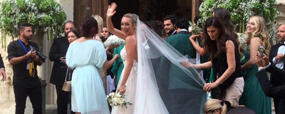 Matrimonio Cristel Carrisi e Davor Luksic, la figlia di Al Bano e Romina si è sposata