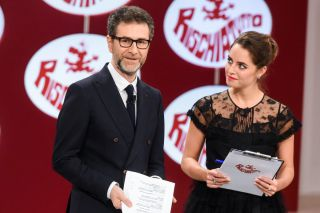 Rischiatutto, da Sabina Ciuffini alle giovani stelle del cinema: Gioli, Capotondi, Madè, Scarano, Mastronardi e De Angelis