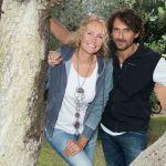 Licia Colò e marito, Alessandro Antonino, insieme in tv