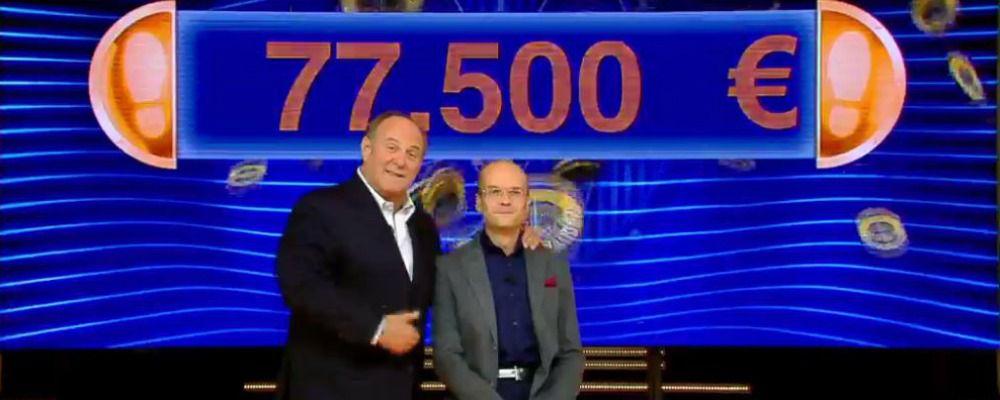 Caduta libera, Massimo Mattevi da record: sua la cifra più alta mai vinta nel programma