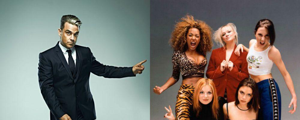 Robbie Williams rivela: è stato a letto con tutte le Spice Girls... tranne una