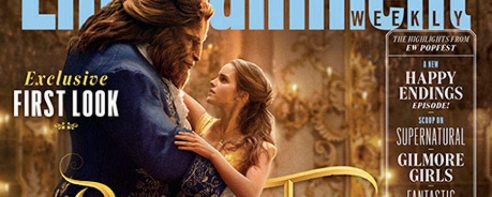 La Bella e la Bestia,  Emma Watson è Belle sulla copertina di EW