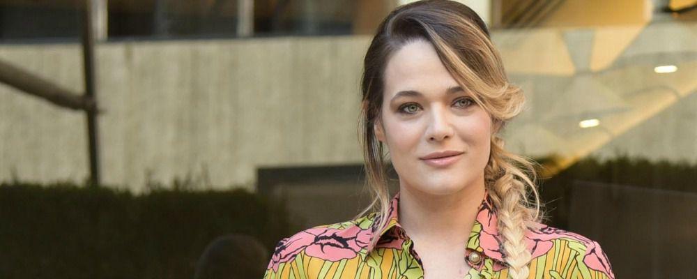 Laura Chiatti sul set incinta: 'Ho temuto di non farcela'