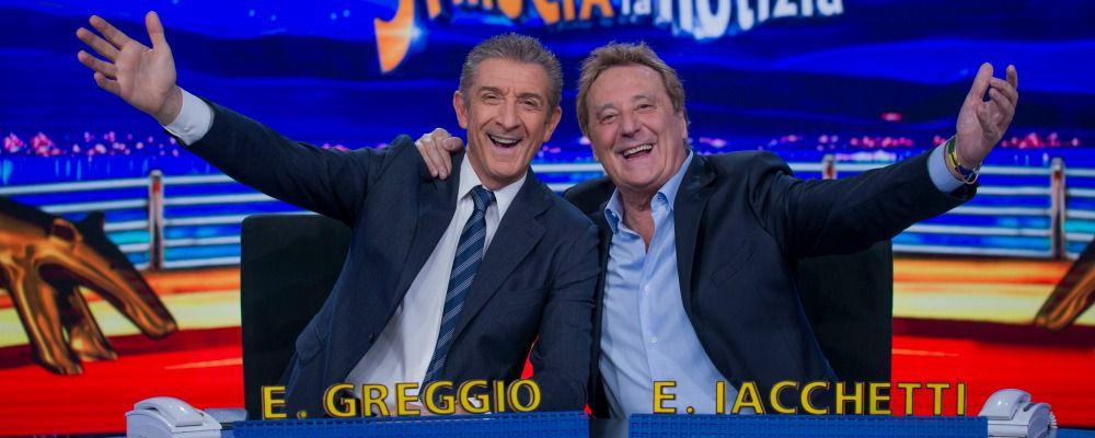 Striscia la notizia: tornano Ezio Greggio ed Enzo Iacchetti, coppia dei record
