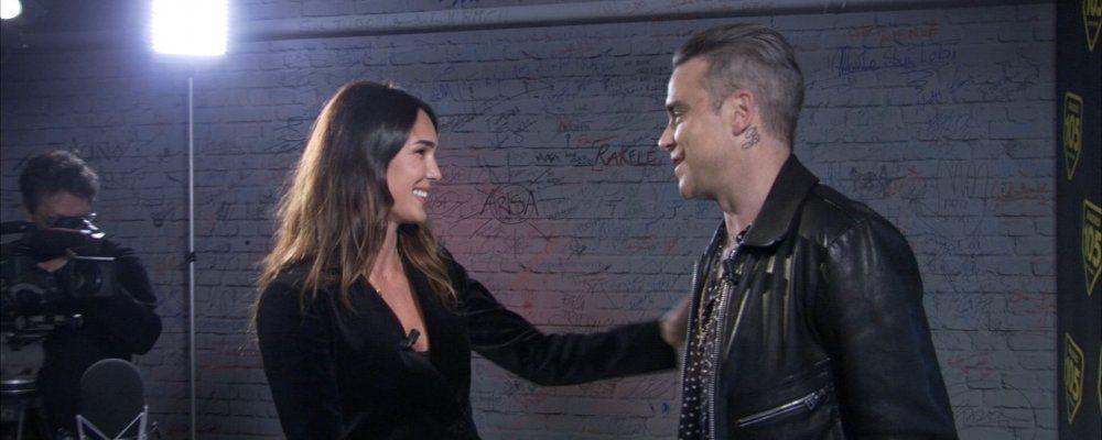 Verissimo,  Robbie Williams l'artista e l'uomo raccontati a Silvia Toffanin