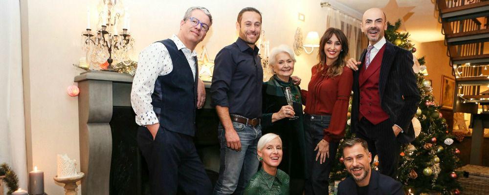 Natale a cena con Benedetta Parodi, ospiti Enzo Miccio e Ernst Knam