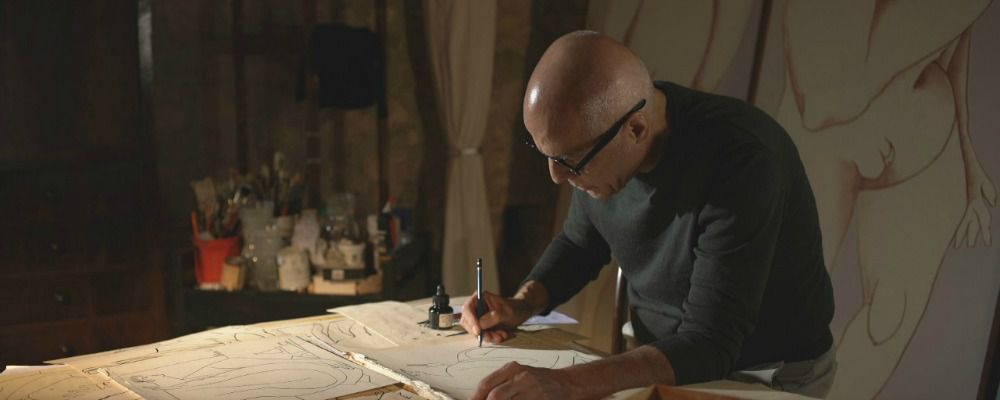 Le immagini di Mina e l'arte di Mauro Balletti: il documentario su Sky Arte