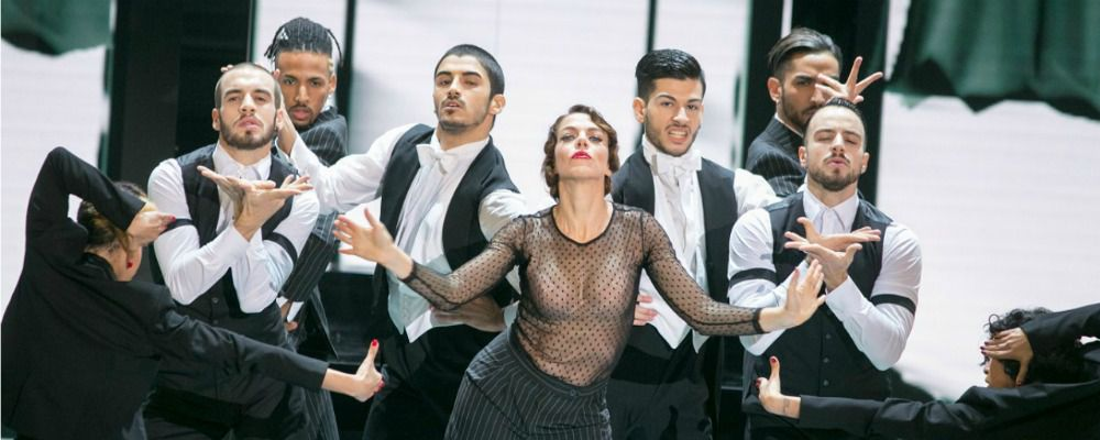 Dance Dance Dance, nella quarta puntata Claudia Gerini diventa Madonna