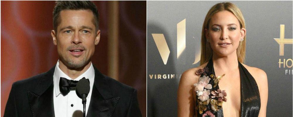 Brad Pitt e Kate Hudson stanno insieme? Gli amici dicono di sì