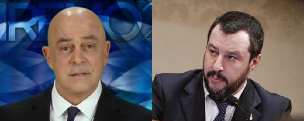 Sanremo 2017, la satira di Maurizio Crozza e la risposta al veleno di Matteo Salvini