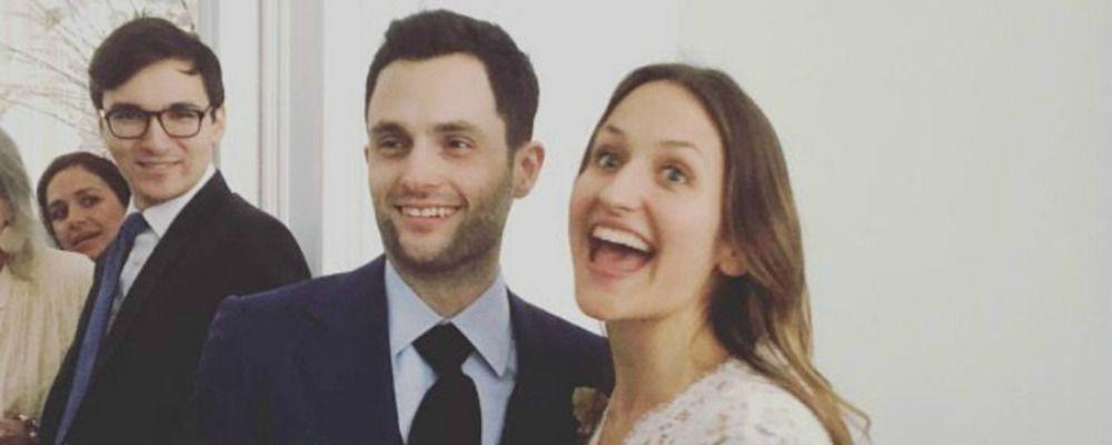 Penn Badgley, il Dan Humphrey di Gossip Girl si è sposato
