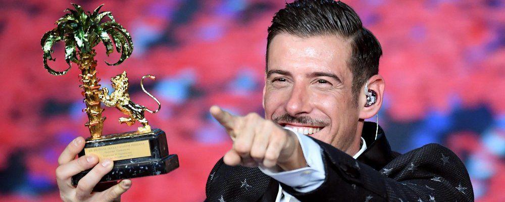 Sanremo 2017, ascolti: 58,4% per la finale. Conti chiude in gloria