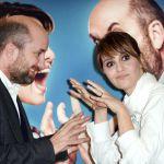 Sanremo 2017, Paola Cortellesi e Antonio Albanese promuovono 'Mamma o papà?'