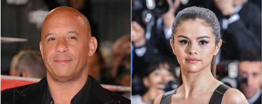 Vin Diesel debutta nel mondo della musica con Selena Gomez