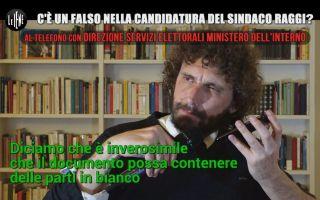 Le Iene, un falso nella candidatura del sindaco di Roma Virginia Raggi? Il fotoracconto del servizio