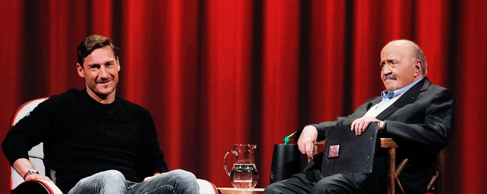 Francesco Totti: 'Ilary? Per me fu colpo di fulmine, per lei no. Ogni tanto le dico qualche bugia'