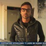 La vita in diretta, ladri a casa di Costantino Vitagliano: lo sfogo del tronista