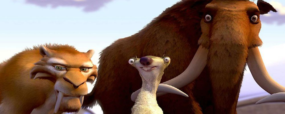 L'era glaciale: un mammut, un bradipo e una tigre fanno squadra