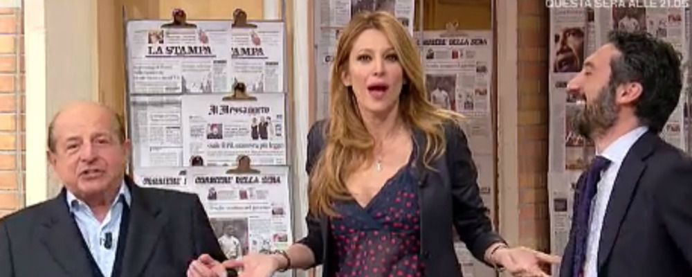 I fatti vostri, Giancarlo Magalli contro Adriana Volpe: 'Strega'