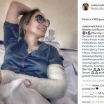 Ornella Muti, incidente per l'attrice: braccio rotto e lussazione