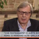Dalla vostra parte: Vittorio Sgarbi si addormenta in diretta