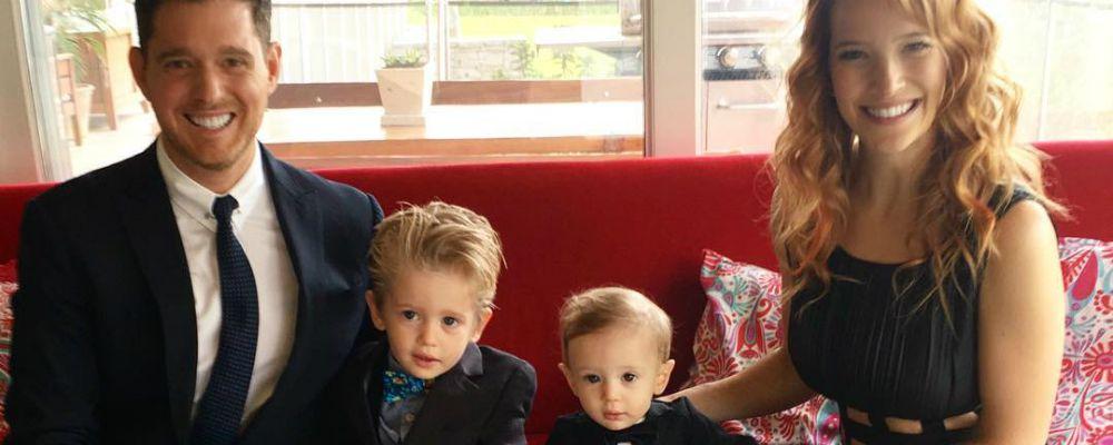 Michael Bublé, il figlio Noah è guarito e lascia l'ospedale