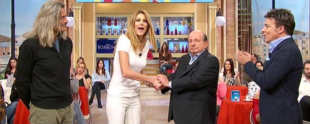 Giancarlo Magalli si scusa con Adriana Volpe: 'Non le accetto per quanto successo sui social'