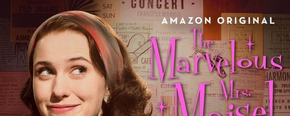 Amy Sherman-Palladino con The Marvelous Mrs. Masel dopo una Mamma per amica