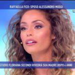 Domenica Live, Raffaella Fico: 'Sposo Alessandro Moggi'
