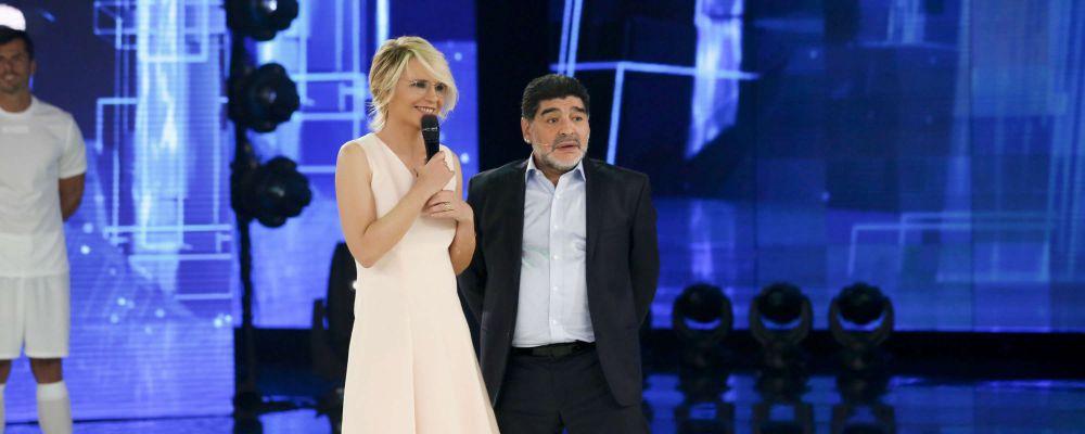 Amici di Maria De Filippi 2017, nel settimo serale arriva Diego Armando Maradona