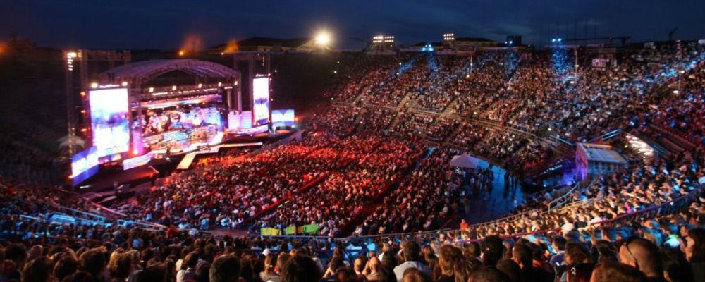 Wind Music Awards 2017, doppio show in diretta dall'Arena di Verona