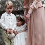Matrimonio Pippa Middleton, George e Charlotte paggetti d'eccezione