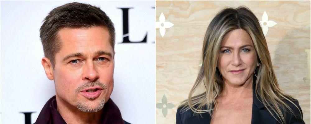 Jennifer Aniston e Brad Pitt, il ritorno di fiamma una fake news