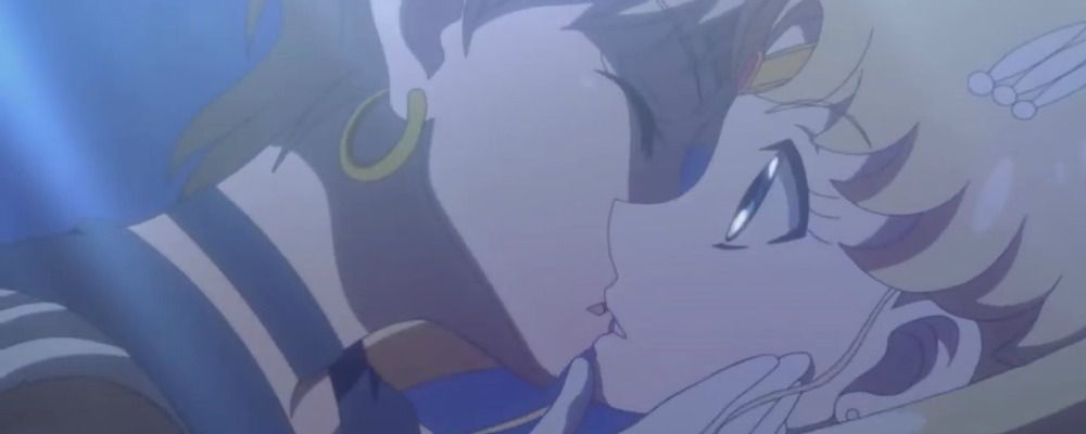 Sailor Moon Crystal, su Rai Gulp il bacio con Sailor Uranus