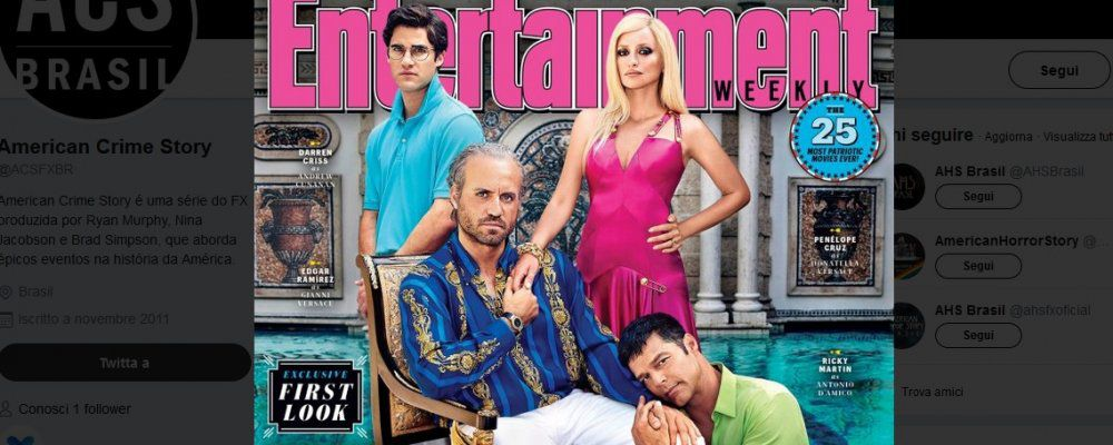 The Assassination of Gianni Versace: le prime immagini con Penelope Cruz e Ricky Martin