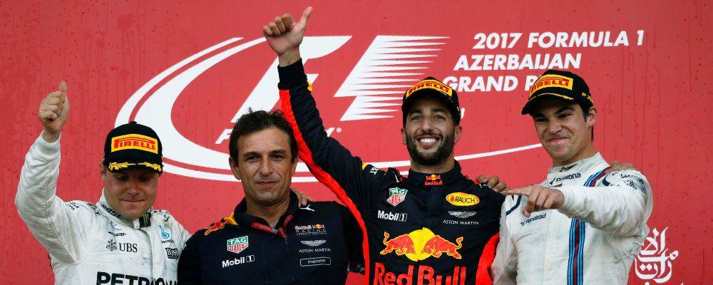 Ascolti Tv, su Rai 2 quasi 3 milioni di telespettatori per la differita da Baku di Formula 1