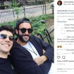Marco Mengoni e Roberto Bolle #wheninnewyork insieme a New York