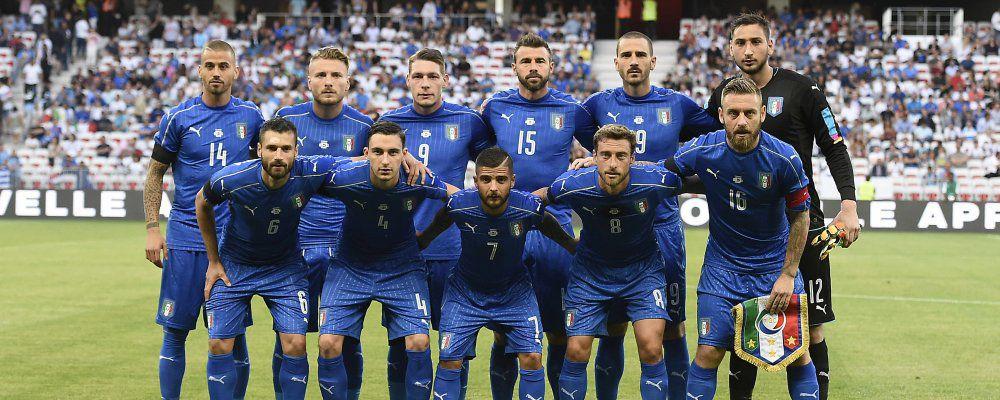 Ascolti tv, oltre 5 milioni di telespettatori per Italia - Uruguay su Rai1