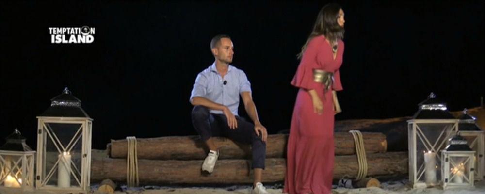 Temptation Island 2017 quarta puntata: Ruben e Francesca si sono lasciati