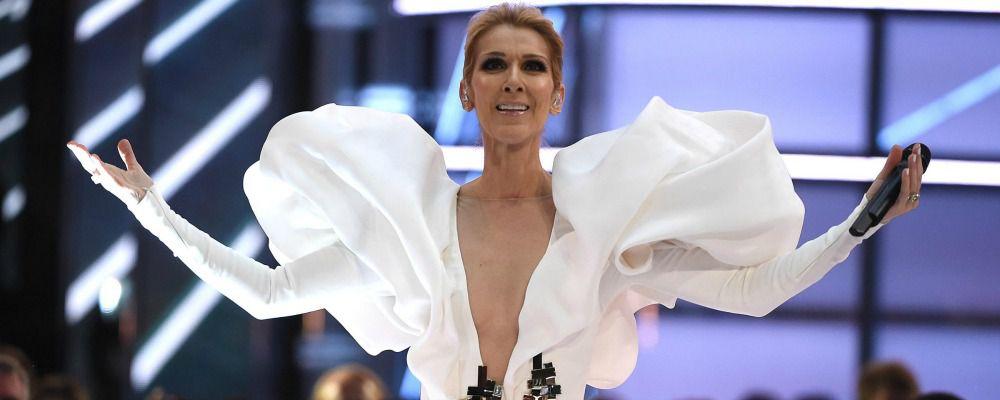 Celine Dion nuda per Vogue su Instagram a Parigi