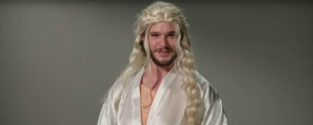 Game of Thrones, il provino di Kit Harington per tutti i ruoli di Trono di Spade
