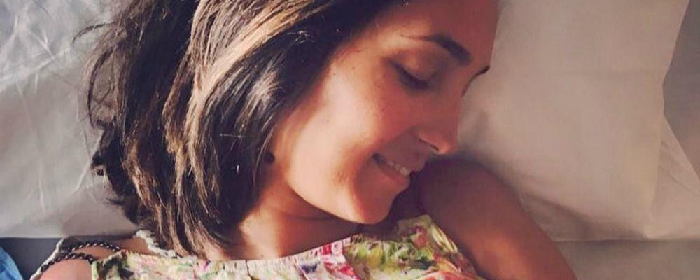 Caterina Balivo è mamma, è nata la secondogenita Cora