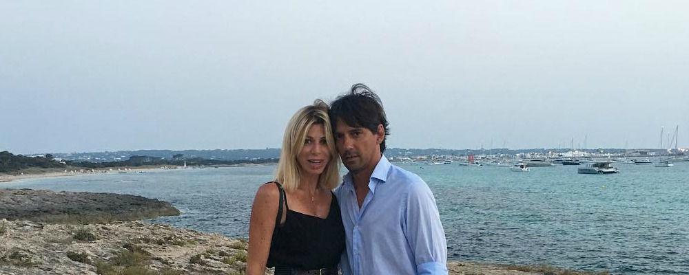 Simone Inzaghi, la compagna Gaia salva una bimba con la manovra di Heimlich