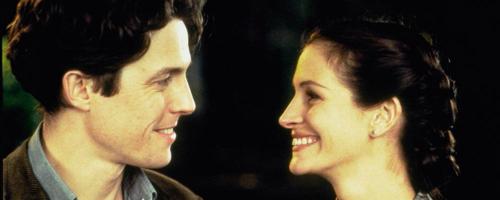 Notthing Hill, la commedia che celebra la love story tra Hugh Grant e Julia Roberts