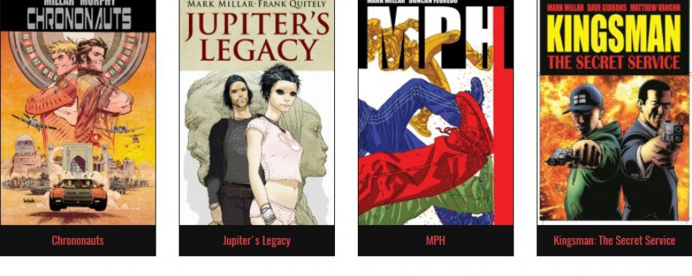 Netflix prepara 2 serie e 3 film ispirate ai fumetti di Mark Millar