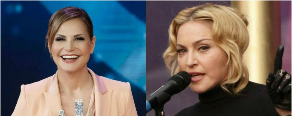 Simona Ventura imita Madonna su Instagram: il video