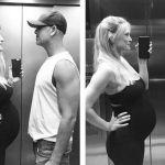 Bar Refaeli incinta, la foto 'trova le differenze' con il pancione