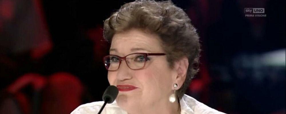 X Factor 2017, le lacrime di Mara Maionchi